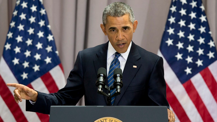 Obama says rejection of the agreement will accelerate Iran's path to a nuclear weapon