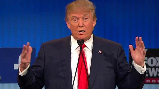 Any candidate unwilling to support eventual GOP nominee?