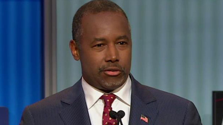 Presidential candidate on why he would strengthen the military first #GOPDebate