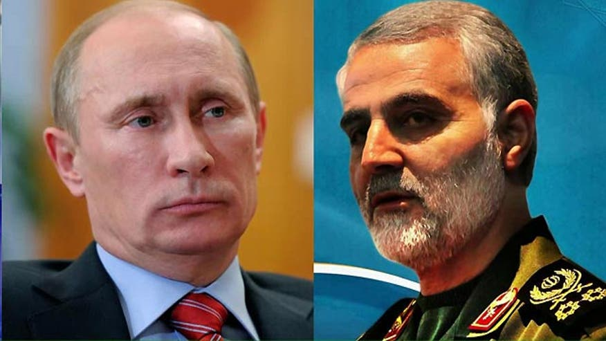 Qassem Soleimani visits Russia amid nuclear deal