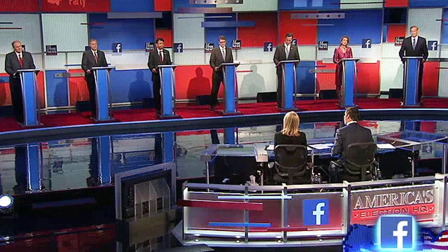 Republican presidential candidates weigh in #GOPDebate
