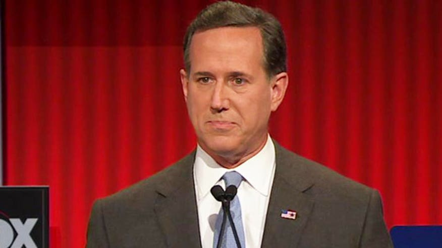 Rick Santorum weighs in on 'rogue Supreme Court' #GOPDebate