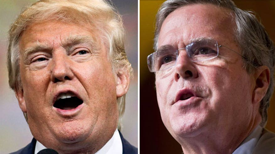 Analyzing Donald Trump and Jeb Bush's bid for the Whitehouse