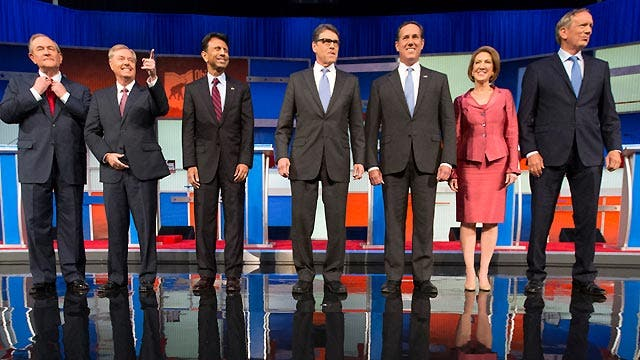 Watch a replay of Fox News' 5 p.m. presidential debate