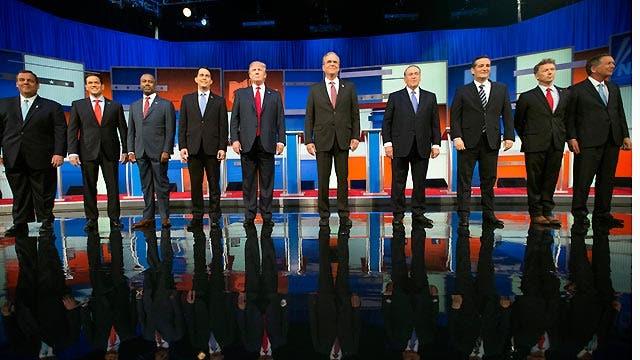 Watch a replay of Fox News' prime-time presidential debate
