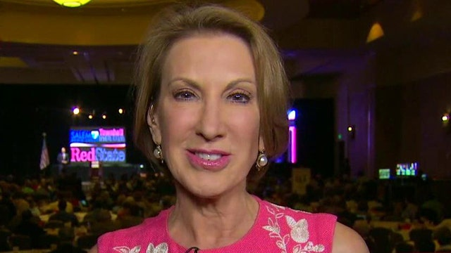 Fiorina reacts to rave reviews following first GOP debate