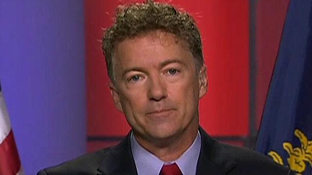 Sen. Rand Paul on Trump jabs, NSA surveillance