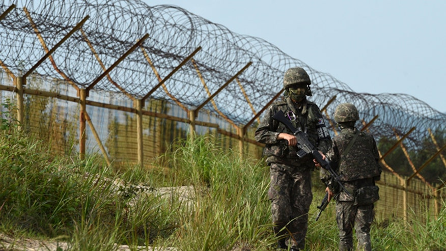 Seoul furious after two soldiers seriously injured