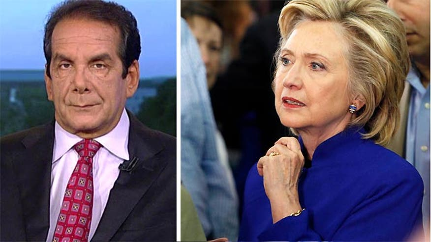 "Krauthammer on Clinton Email Revelations:  ""Nothing she says ever is true three weeks later"""