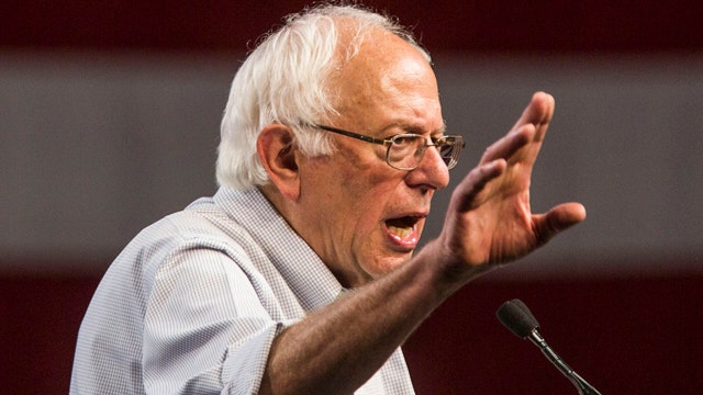 Sanders surges into lead over Clinton in New Hampshire, poll finds