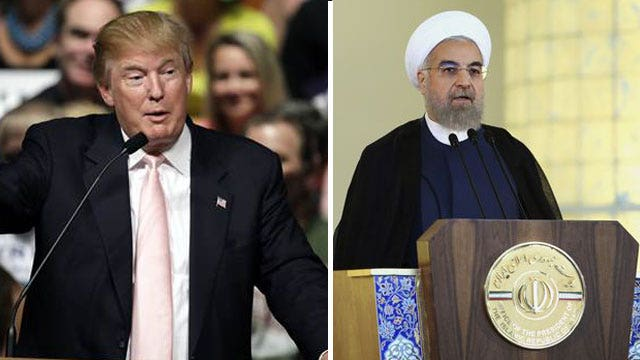 Trump on Iran: 'They will know I am not playing games'