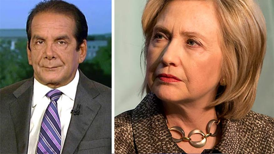 "Krauthammer says Clinton has ""lost control"" of the email situation"