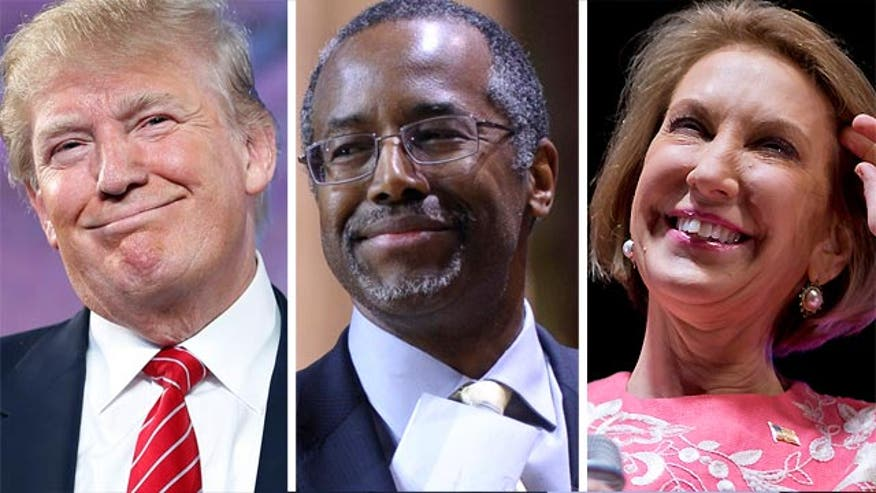 Donald Trump, Dr. Ben Carson, Carly Fiorina ... why Washington 'outsiders' and not traditional politicians are resonating with voters so far in the 2016 presidential race