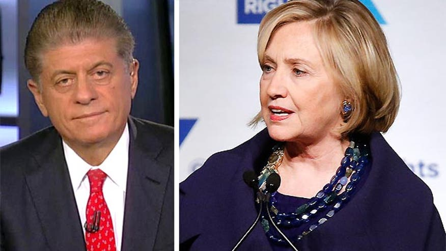"Napolitano: Clinton presumed to know ""what is top secret and what is not"" in email server"