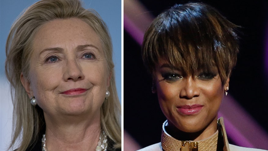 Tyra Banks says she and Hillary Clinton got real