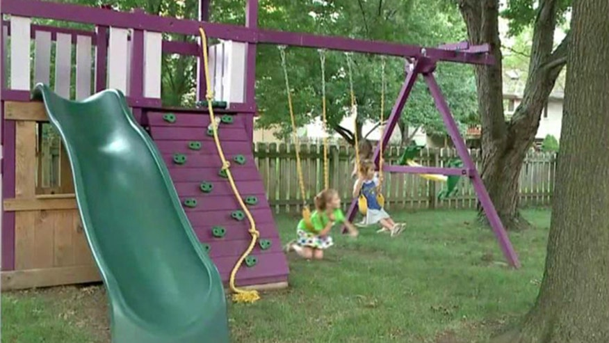 Homeowners Association issues threat over color of playset