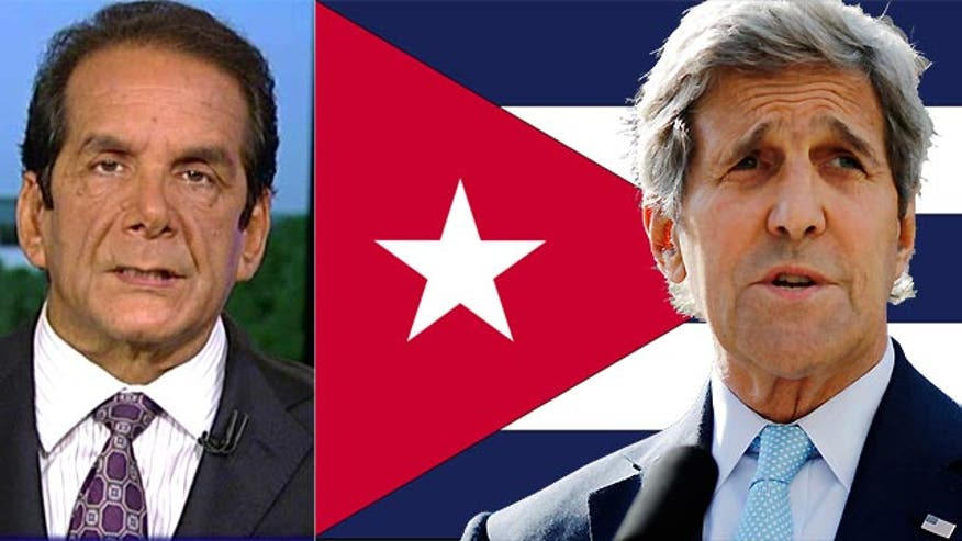 "Krauthammer: Cuba ceremony is ""farce and an embarrassment"""
