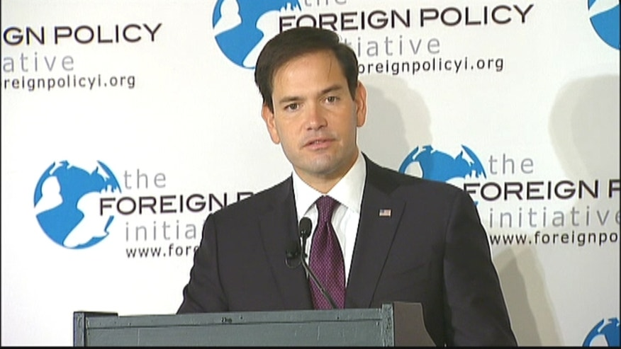 Sen. Marco Rubio Remarks on Cuba at the Foreign Policy Initiative.