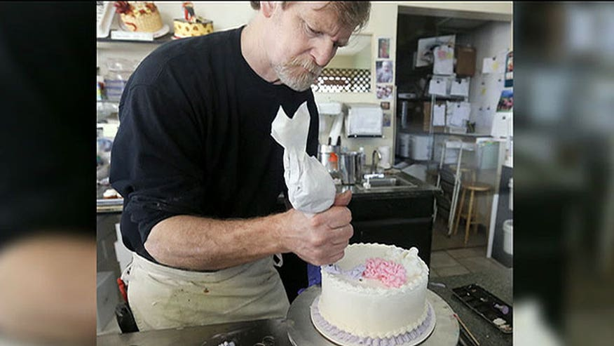 Colorado cake maker is told to re-educate staff on LGBT rights on 'The Kelly File'