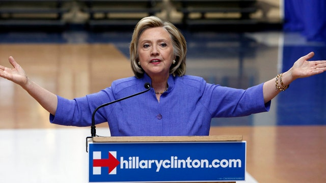 Drawing a blank: Devices from Clinton, aides wiped clean