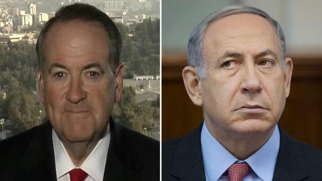 Huckabee stands behind Netanyahu in Iran nuke deal fight