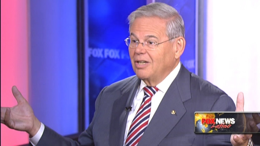 Sen. Bob Menendez says the Obama administration has given in on Cuban demands without securing any concessions from the Castro regime.