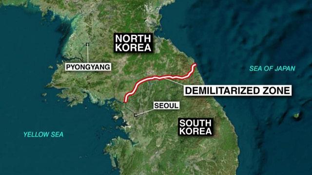 North and South Korea exchange artillery fire across border