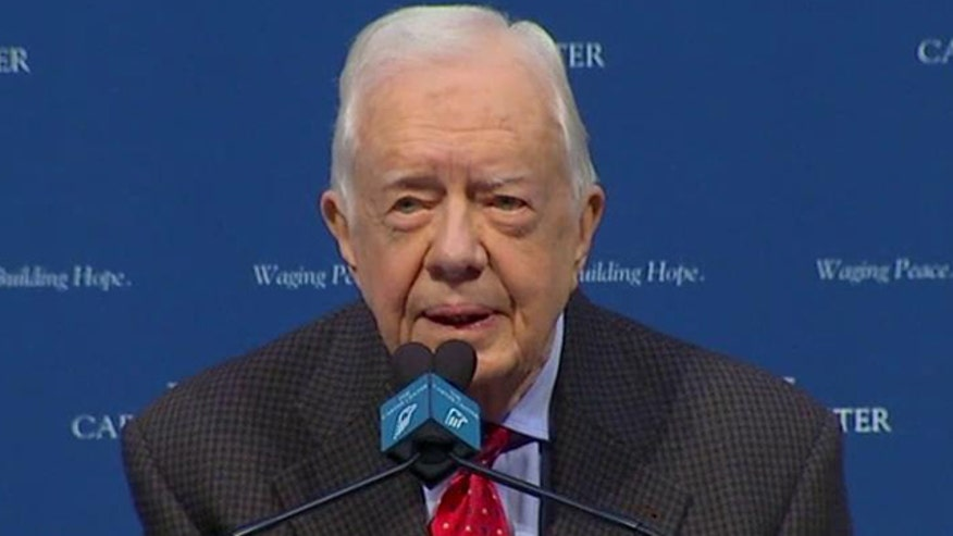 Former president holds news conference on melanoma diagnosis