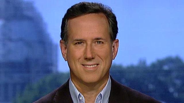 Rick Santorum: I have solid policies behind the rhetoric