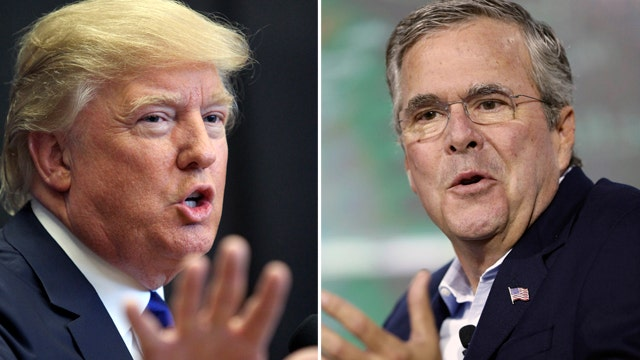 Power Play: Jeb takes on The Donald