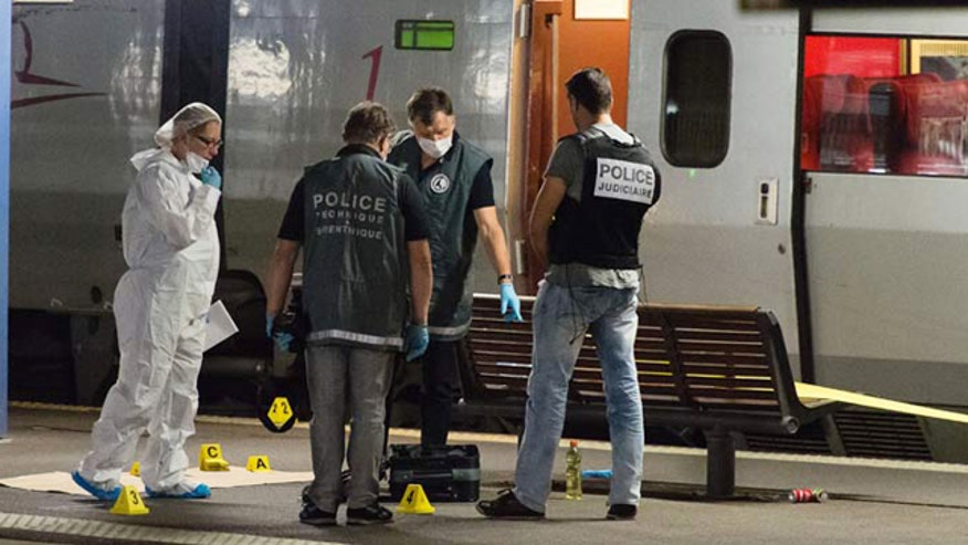 Thwarted attack on Paris-bound train sparks new fears of terror on the tracks within the US