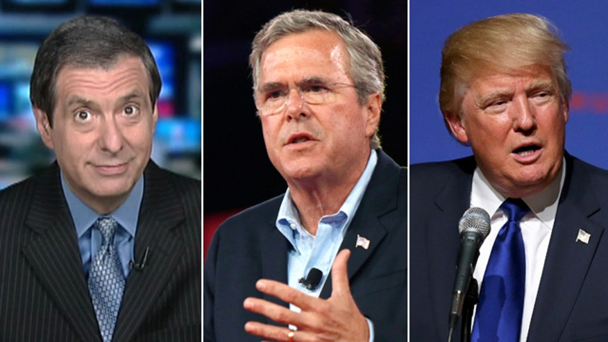 'Media Buzz' host on Jeb Bush stepping up swipes against GOP rivals