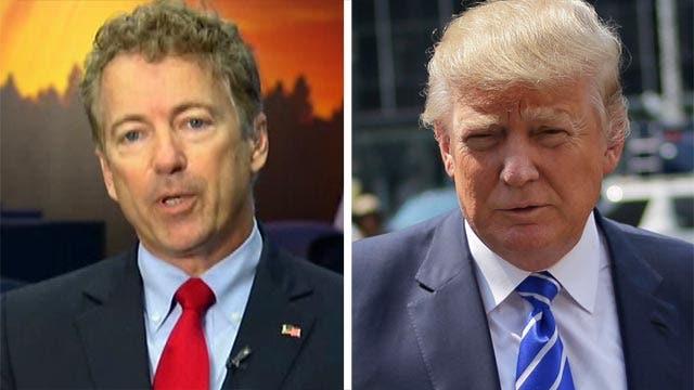 Rand Paul calls Donald Trump a 'fake conservative'