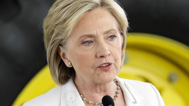 Hillary likens GOP candidates' views on women to terrorists