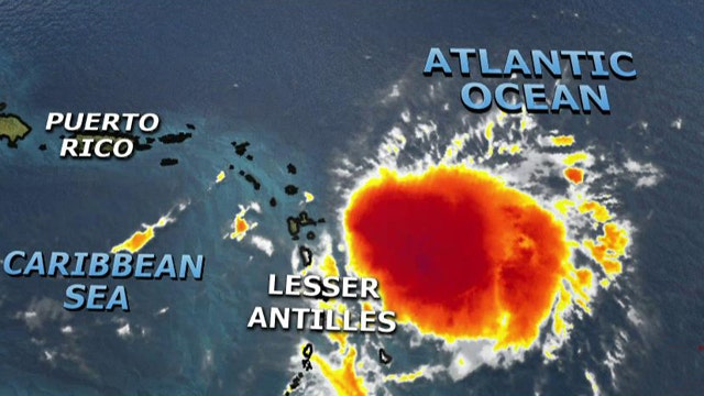 Tropical Storm Erika intensifies; expected to hit Florida