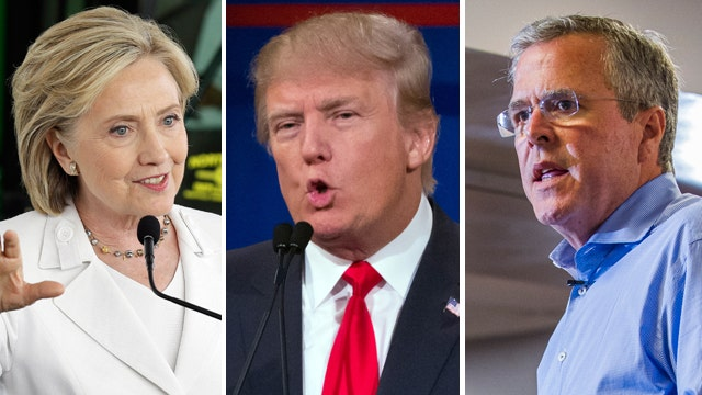 Poll asks public for one-word description of candidates