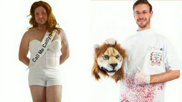 Caitlyn Jenner, Cecil the lion Halloween costumes on sale