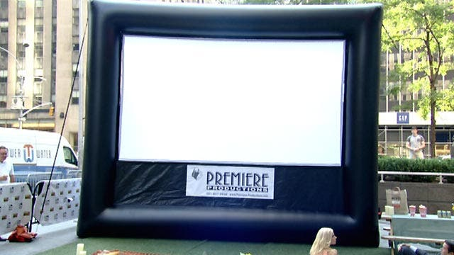 Hosting the perfect outdoor movie night