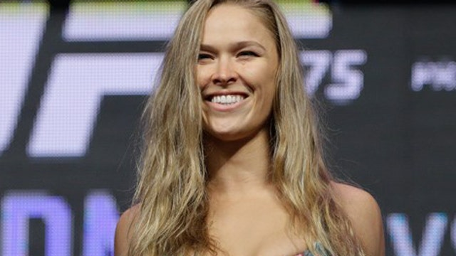 Marine wants a date with Ronda Rousey