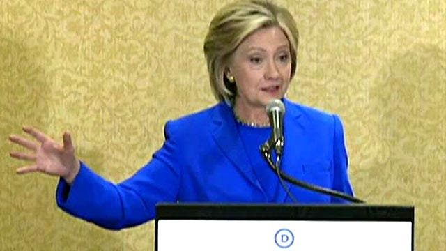 More outrageous comments from Hillary Clinton