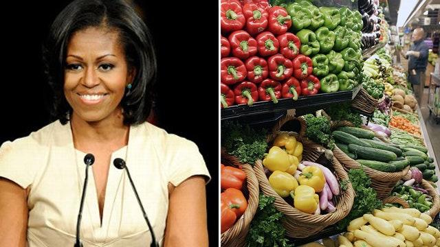 Is Michelle Obama's healthy school lunch program working?