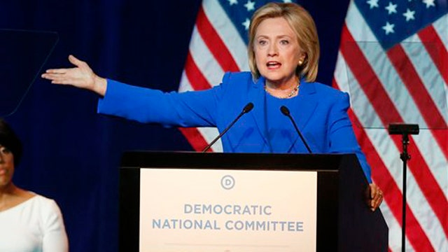 Hillary Clinton compares GOP rivals to terrorists
