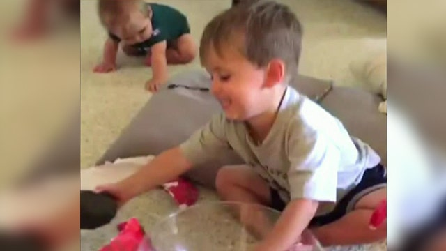 Kid receives a terrible gift to test his reaction