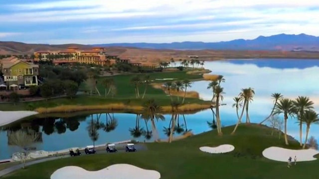 Reflection Bay Golf Club reopens in Las Vegas