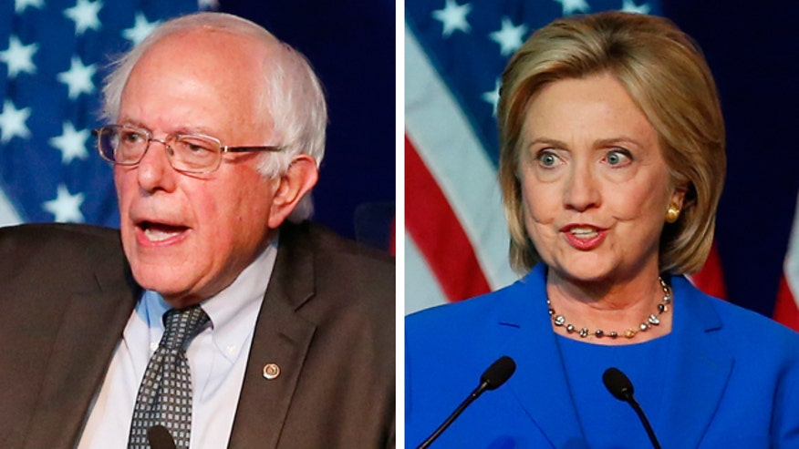 Clinton's lead over Sanders narrows to just seven points