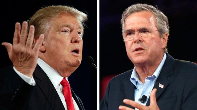 The Bush-Trump media war