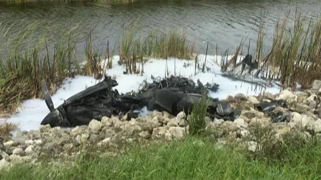 Couple survives plane crash in the Florida Everglades