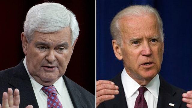 Newt Gingrinch: Biden won't take votes from Sanders