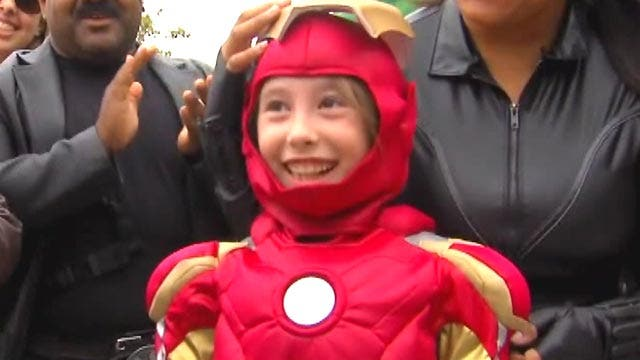 9-year-old is hero for a day