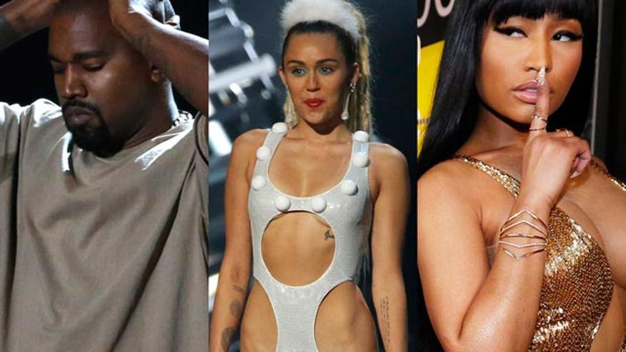 Four4Four: Miley, Kanye and Nicki don't pull any punches